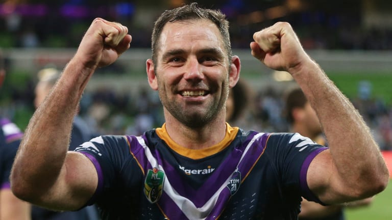 Storm great Cameron Smith.