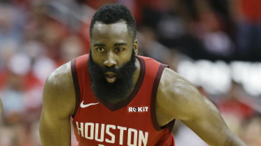 25abdb5c2301 James Harden dominated the Warriors in game three.