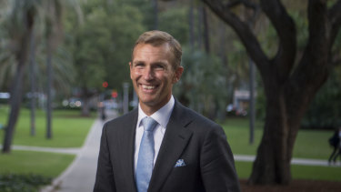 Planning and Public Spaces Minister Rob Stokes is keen to promote cycleways.