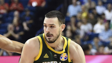 Chris Goulding is now focusing on the NBL after his World Cup campaign in China.