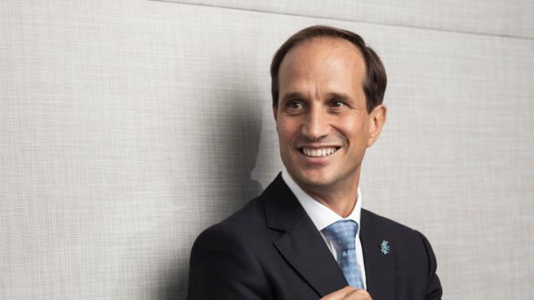 New AMP chief executiveFrancesco De Ferrari.