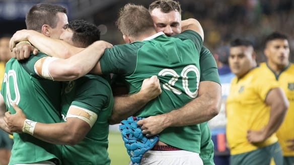 Series gets the right result – Ireland were the better team