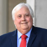 Palmer adds Queensland to WA High Court legal bid over border closures
