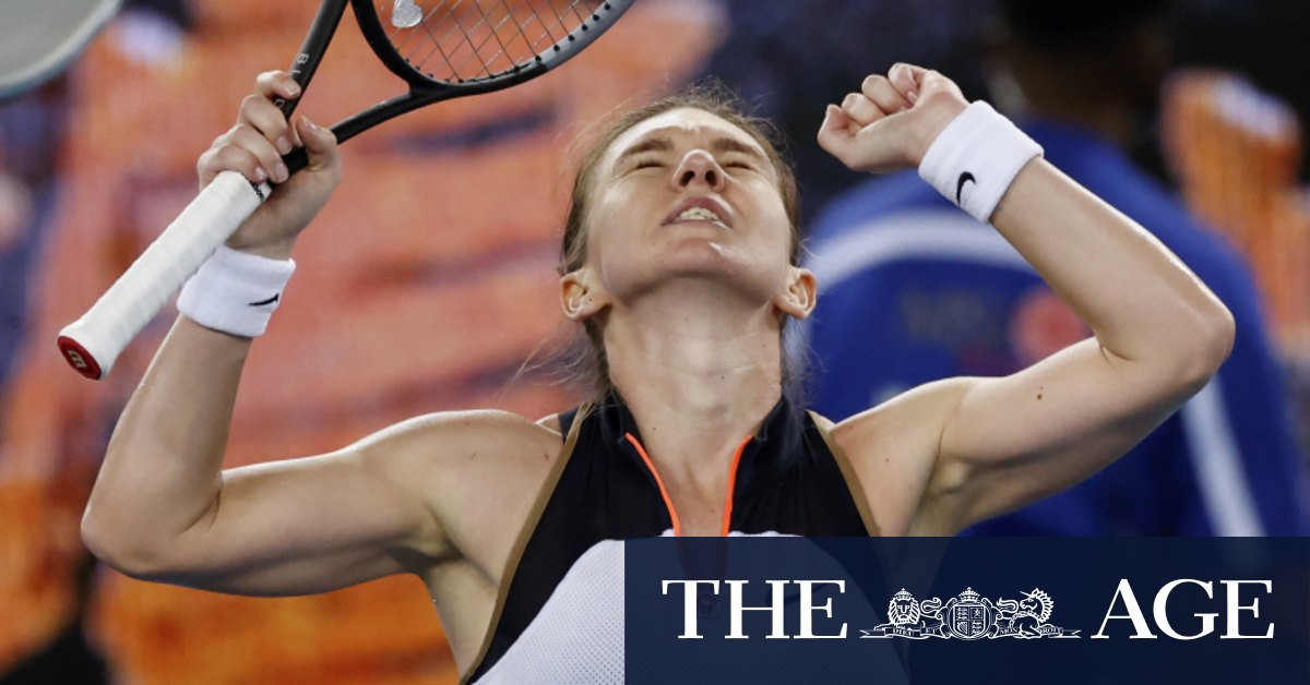Australia's Tomljanovic pushes Halep to the wire in epic encounter – The Age
