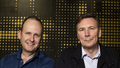 Tyro CEO Robbie Cooke and chairman David Thodey have been the key ingredients in the fintech's successful institutional bookbuild.