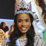Winner of Miss World 2019, Toni-Ann Singh of Jamaica,.