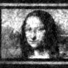 This Mona Lisa recreation is the width of a human hair