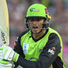Khawaja pledges future to Thunder but still wants Test return