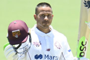 Usman Khawaja continued his fine form in the Sheffield Shield, scoring another hundred on Thursday.