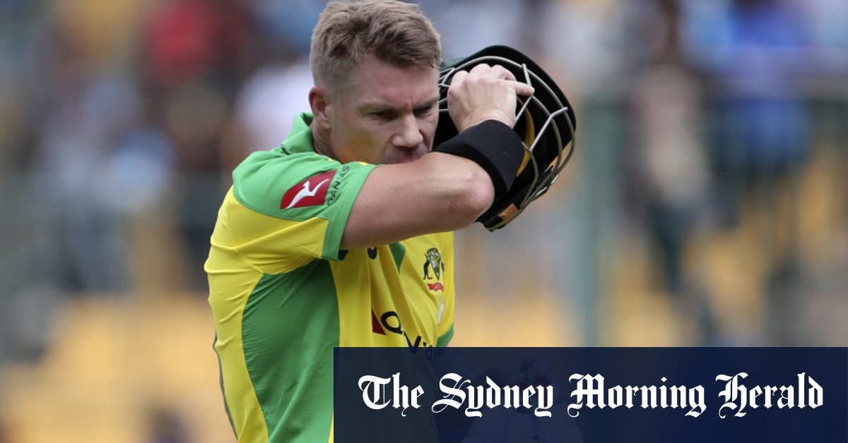 Inglis saves Australia's blushes against NZ in T20 World Cup warm-up – Sydney Morning Herald