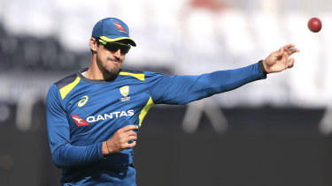 Mitchell Starc played in just one of the five Ashes Tests.