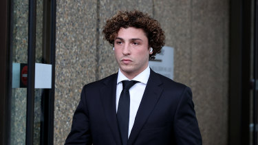 Daniel Taylor leaves the Federal Court this week.