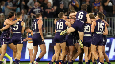 The Dockers have had much to smile about on the field in 2019 but financially it hasn't been a great year.