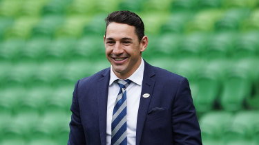 Billy Slater will have a stand named after him for Storm games at AAMI Park.