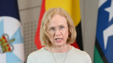 Queensland Chief Health Officer Jeannette Young.