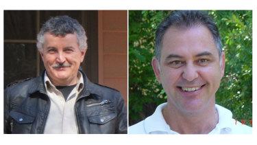 Certifiers Stanley Spyrou and Tom Miskovich.
