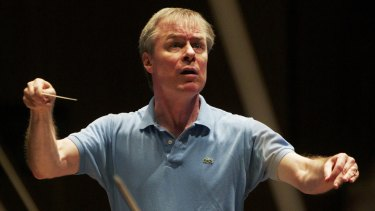 Conductor David Robertson will lead the Symphony Symphony Orchestra at the new Western Sydney venue next year.