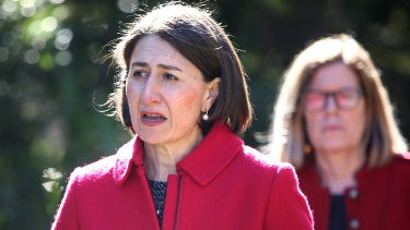 NSW Premier Gladys Berejiklian says the closure of the border with Victoria is necessary because the coronavirus is being spread among the community.