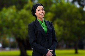Yarra councillor Anab Mohamud.