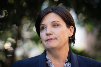 """NSW Labor leader Jodi McKay says no one has challenged her in the wake of the """"terrible"""" weekend byelection."""