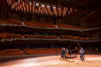 Melbourne Digital Concert Hall streams from Hamer Hall on November 25, 2020.