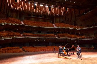 Melbourne Digital Concert Hall streams from Hamer Hall.