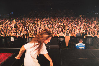 The last time Sultana played The Hordern there were 5500 people in the audience.