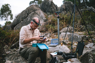 Researchers, led by Doug Mills of the NSW Parks and Wildlife Service, are using the missile tracking technology near the three main cave areas in the state used by the microbats as maternity sites.