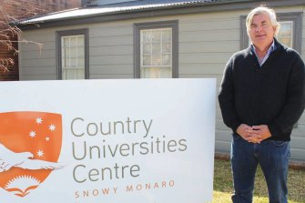 Duncan Taylor, the unpaid chief executive of Country Universities Centre.  He is the husband of Nationals MP Bronnie Taylor.