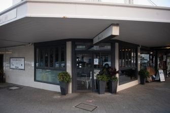 The driver who tested positive to COVID-19 transmitted the virus to a woman at Belle Cafe in Vaucluse.
