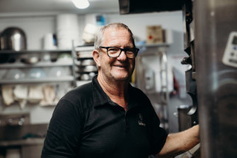 Albert Vos of Al's Bakehouse in wauchope.