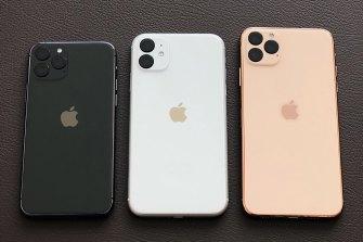 Renders of the 2019 iPhones by designer Ben Geskin, based on leaks.
