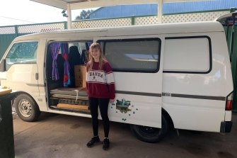 A overseas gap year was on the cards for Jade Purdon next year, but the pandemic inspired her to search for local alternatives.