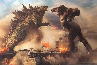 Godzilla vs Kong features plenty of city destruction, though far less than its predecessor, Godzilla: King of Monsters.