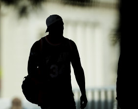 Looming shadow over Canberra ... Sonny Bill Williams.