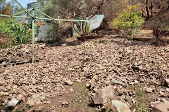 A landslide in Corryong in Victoria's north-east this year.