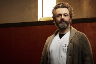 Michael Sheen as Dr Martin Whitly in Prodigal Son.