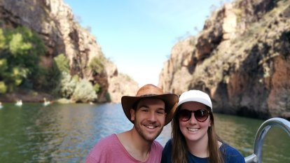 'You shouldn't have to get on your knees and beg': Border rules split couple travelling to Perth for rare medical treatment