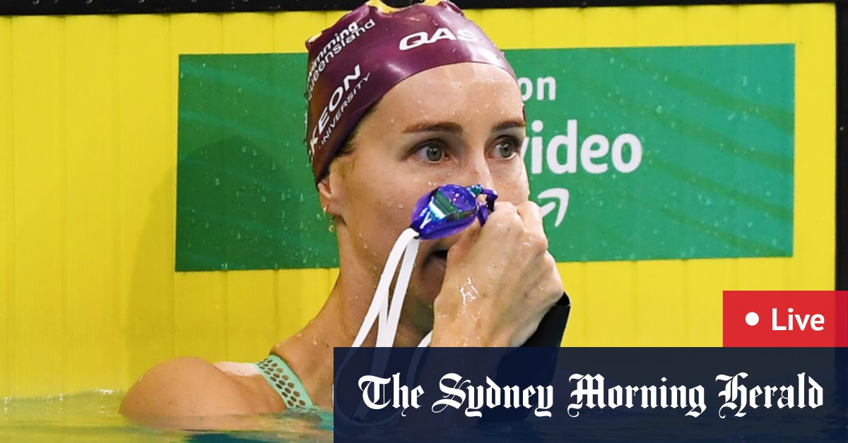 2021 Australian Swimming Trials as it happened: McKeon edges Campbell sisters in 100m freestyle final – The Sydney Morning Herald