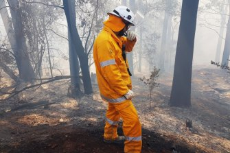 Firefighters tackle fires burning throughout Queensland.