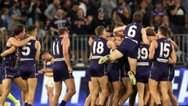 The Dockers seem to have turned their season around.
