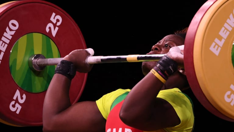 Arcangeline Fouodji Sonkbou, of Cameroon is one of several athletes reported missing.