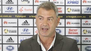 Hands off: Wellington Phoenix chairman Rob Morrison says coach Mark Rudan won't be moving to Western Melbourne.