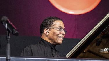 Herbie Hancock performing in New Orleans earlier this month