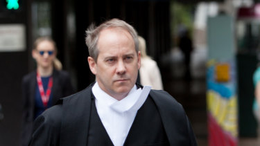 Saul Holt QC, pictured here in 2016.