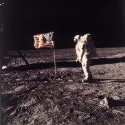The first moon landing.