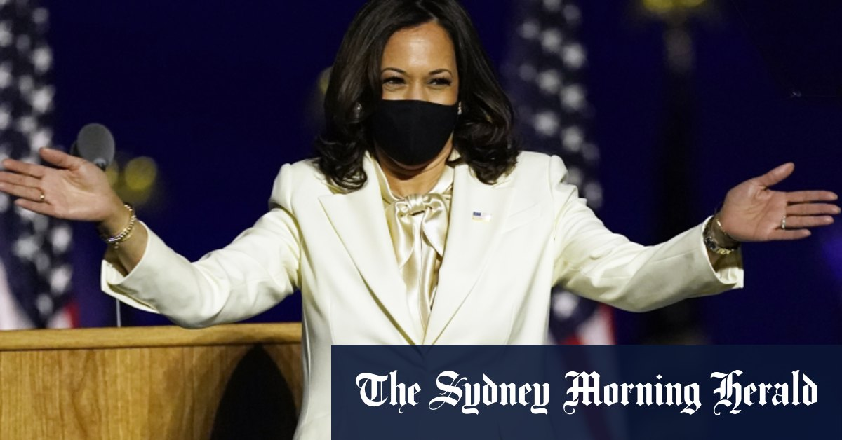'I will not be the last': Harris pays tribute to women – Sydney Morning Herald