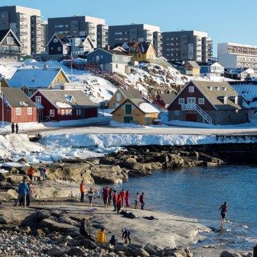 Nuuk, Greenland's capital.