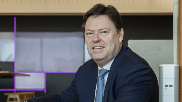 """Lendlease boss Steve McCann: """"We would support ongoing use of HomeBuilder."""""""