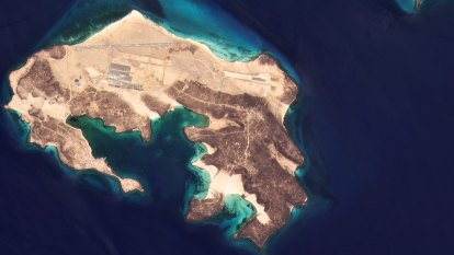 Mystery air base under construction in Middle East